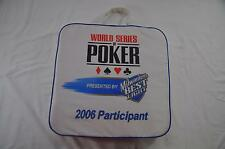 2006 World Series of Poker WSOP Participant Foam Seat Cushion Party Poker