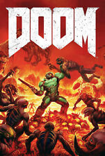 187664 Doom Game PC Box Atari Xbox PS4 3DO Snes Wall Print Poster Plakat