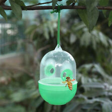 Outdoor Hanging Fly Trap Catcher Hornet Wasp Insect Killer Cage Pest Control BM4