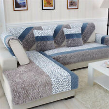 Quilted Cover Slipcovers Sofa Stretch Furniture Covers for Living Room Decor
