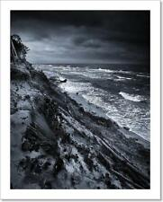 Baltic Coast With Eroded Beach And Art Print Home Decor Wall Art Poster - G