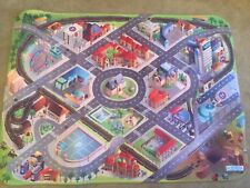 Giant Kids City Playmat Fun Town Cars Play Road Carpet Rug Toy Mat House Of Kids