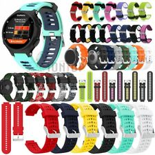 Silicone Replacement Strap Watch Band For Garmin Forerunner 735XT/Vivoactive 3