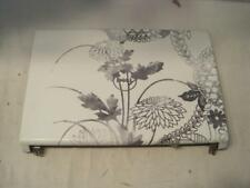 Dell Studio 1555 Complete Screen Assembly (white / black flowers)     FREE SHIP