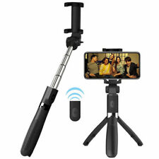 Wireless Remote Extendable Selfie Stick Tripod Bluetooth Shutter For IOS Android