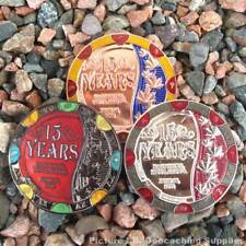15 Years of Geocaching in Canada Geocoin (Choice of Finish)