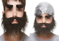 Mustaches Self Adhesive, Novelty, Fake, Small, Realistic Traper Beard, and...