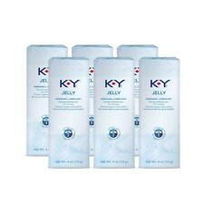 K-Y Jelly Personal Water Based Lubricant, 4 Ounce (Pack of 6)