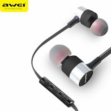 2018 Awei ES-20TY In-Ear Earphone 3.5mm Headphone Super Bass Headset With Mic