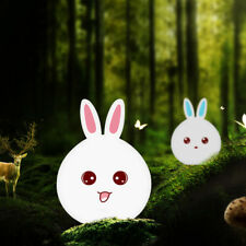 Tap Control Bedside Night Light LED Lamp Touch Sensor Silicone Rabbit