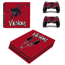 Red Spiderman PS4 PRO Skin Console Playstation 4 Controller Skin Sticker Cover