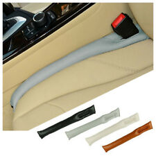 2pcs Car Seat Gap Leakproof Filler Cushion Stopper Pad Protective PU Leather US