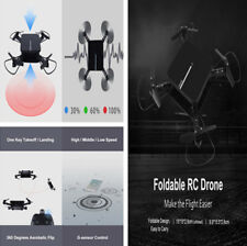 WiFi Foldable RC Drone Altitude Hold Waypoint Voice Control Headless Quadcopter