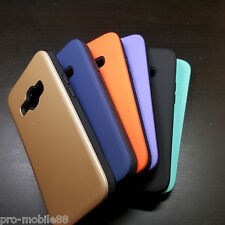 Samsung Galaxy J1 - Silicone with Hard Back Cover Case