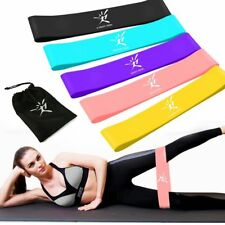 Resistance Loop Bands Fitness Yoga Crossfit Workout Exercise Training Band Set
