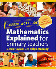 """""""Mathematics Explained for Primary Teachers"""" Student Workbook by Ralph W...."""