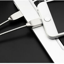 Micro /Type C/IOS Adapter Charger Cable Zinc Alloy 2.4A Fast Charging Cord US
