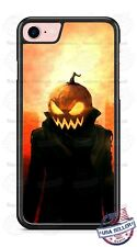 Halloween Pumpkin Head Scary Phone Case for iPhone Samsung Google LG Moto etc
