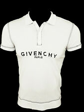 Brand New Bitten Logo GIVENCHY PARIS T-Shirt Tee Top Camiseta Cotton White