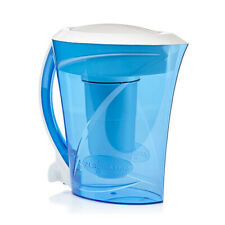 ZeroWater 8 Cup Pitcher with Free Water Quality Meter, BPA-Free, NSF Certified