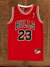 NWT Michael Jordan #23 Chicago Bulls Men's / Youth Throwback Red Stitched Jersey