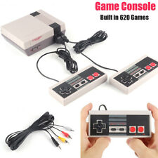 TV Video Game Console Built-in 620 Games For NES AV Handheld Console System