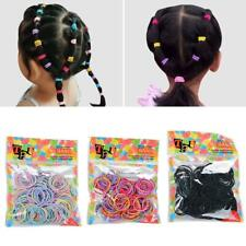 100pcs Lot Kids Girls Elastic Rope Hair Ties Ponytail Holder Head Band Hairbands