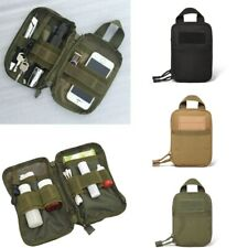 Waterproof Tactical Outdoor Waist Belt Pack Phone Case Pouch Bag Camping Hiking