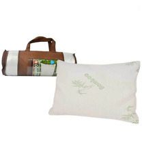Luxury Bamboo Memory Foam Pillow Natural Fiber Breathable Removable Neck Support