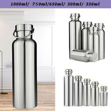 350-1000ml Stainless Steel Vacuum Insulated Water Bottle Double Wall hot