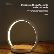 Torch Control Dimmable LED Desk / Bedside Lamp with Wireless Qi Charging Base