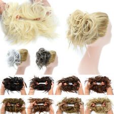X-LARGE Messy Bun Hair Piece Scrunchie Updo Wrap Hair Extensions as Human 7inch