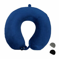 Travel Pillow, Memory Foam Airplane Neck Support Cushion, Soft