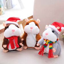 Cheeky Hamster Doll Talking Mouse Pet Sound Record Christmas Electric-Plush-Toy