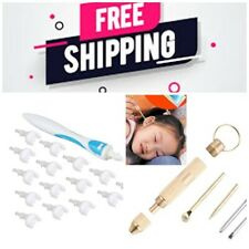 REGO Ear Wax Removal Tool, Ear Wax cleaner ,q-Grips Ear Wax Remover with 16PS