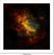 Nebula Cloud In Outer Space Art/Canvas Print. Poster, Wall Art, Home Decor