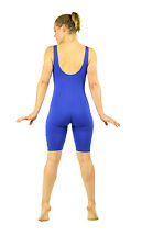 Women's  Cotton Dance Workout Tank Unitard BIKETARD