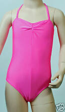 Lycra Leotard Camisole Gathered Bust - Flo Colours Dance Leotard (#CARMEL)