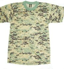 T-Shirt Digital Camouflage ACU ABU Marpat Desert Made In USA S,M,L,XL,2X,3X