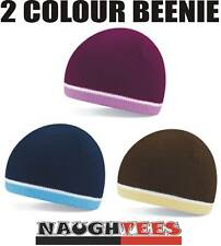 Warm 3 colour BEANIE Hat 3 variations.Winter ski hiking