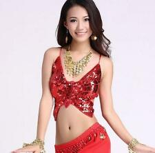SB02# Butterfly Belly Dance Costume Bra / Top 10 Colors