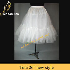 "Rock n' Roll Petticoat Lady 50s Underskirt Tutu 26"" UK"