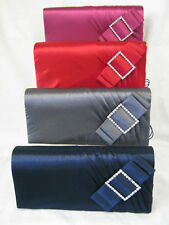Ladies Fuchsia/Grey/Red/NavyBlue Bulaggi  Evening Bag