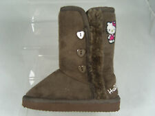 HELLO KITTY GIRLS BOOTS (FAY) BROWN