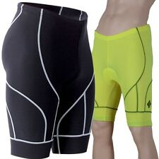 MENS PADDED CYCLE SHORTS compression bib tights baselayer skins rowing sculling