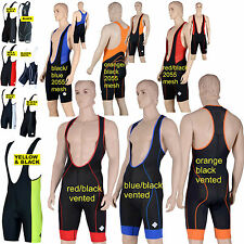 CYCLING BIB SHORTS jersey cycle Padded tights coolmax rowing triathlon sleeve