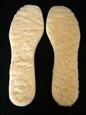 THERMAL INNER SOLES WARM WINTER FLEECE COLD FEET SIZE