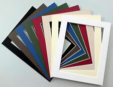 """Picture Mounts - 14""""x11"""" - Choice of Colours & Sizes"""