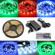5m RGB 5050 LED SMD Strip Streif.& Controller&Trafo 12V