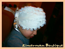 Beautiful Baby/Girl/Adult Curly Feather Headband